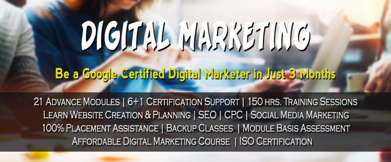 Digital Marketing Certification Institute In Agra