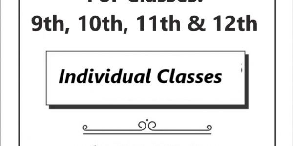 Individual Mathematics Classes
